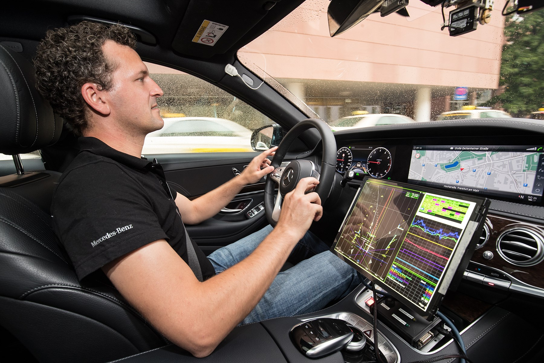 On the road to autonomous driving: Mercedes-Benz on ...
