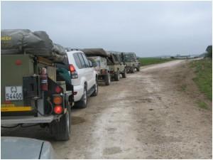 4x4 convoy