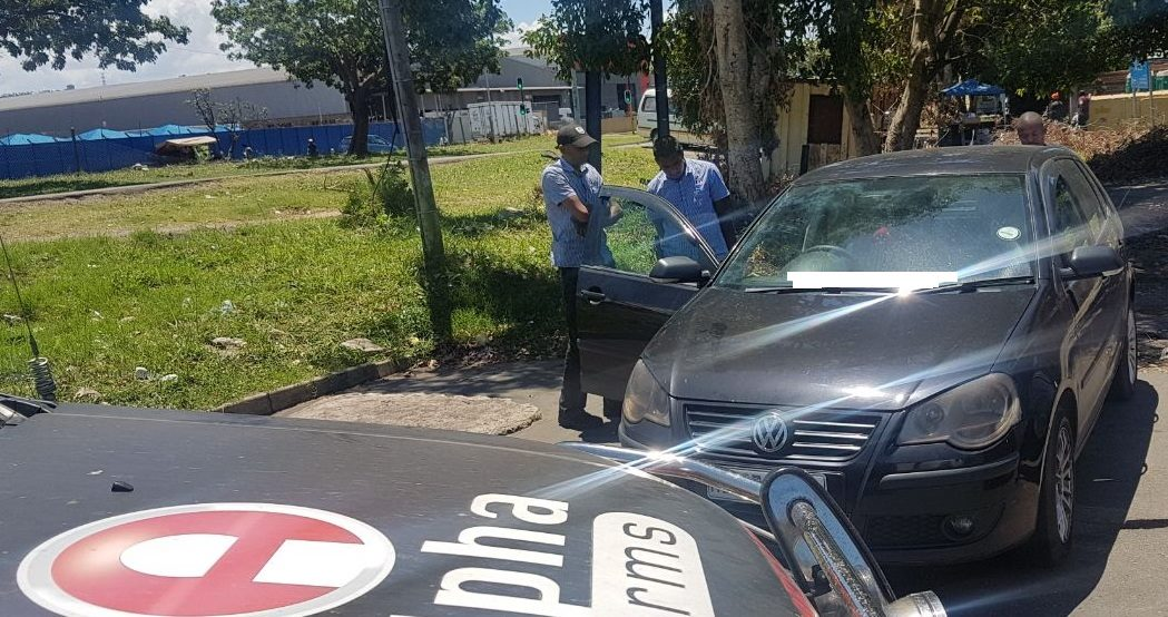 Car Stolen In Chatsworth Recovered On South Coast Road