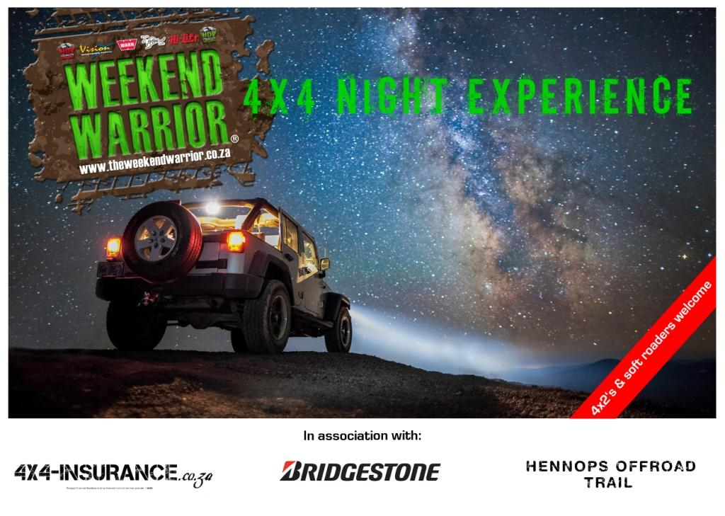 4x4 Night Experience Flyer Front