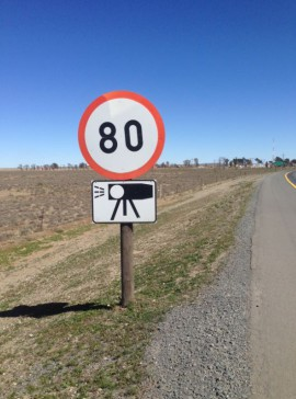 80kmh speed sign