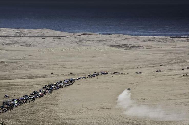 Dakar 2014 sand