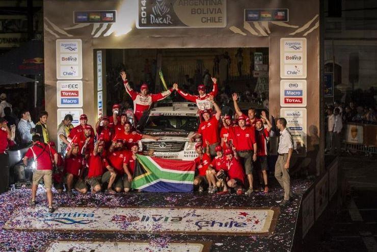 Dakar 2014 south africans 2