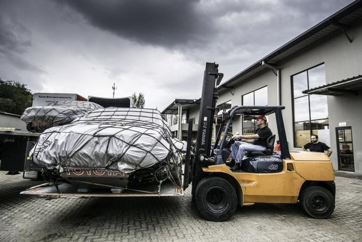 Dakar 2014 vehicle load