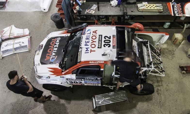 Dakar 2014 vehicle notes