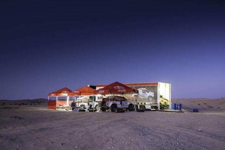 Dakar tents