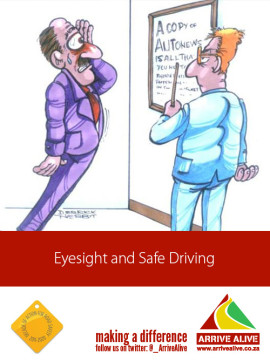 Eyesight and Safe Driving