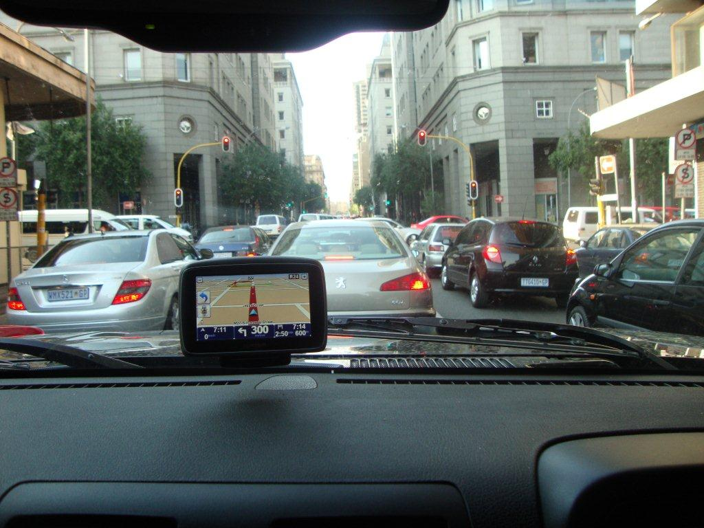 GPS IN jhb traffic