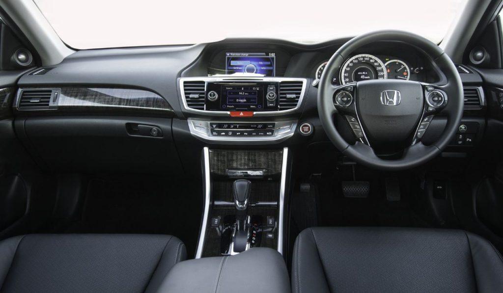 Honda Accord inside