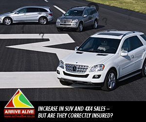 Increase in SUV and 4x4 sales - but are they correctly insured?