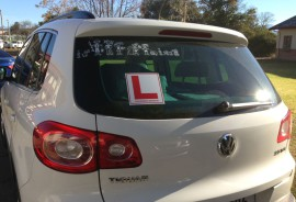 Learner Driver stick people