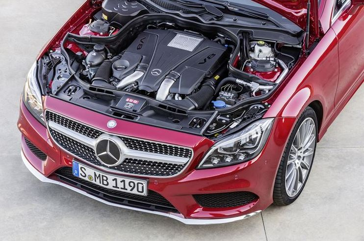 Mercedes cls 500 engine