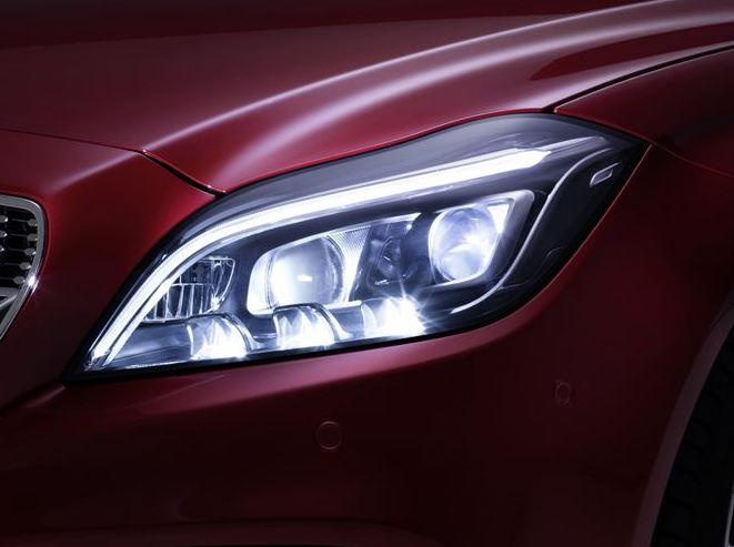 Mercedes cls 500 lights