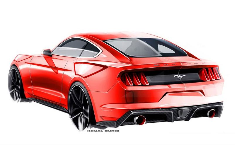taking the all new ford mustang from sketch to production car insurance. Black Bedroom Furniture Sets. Home Design Ideas