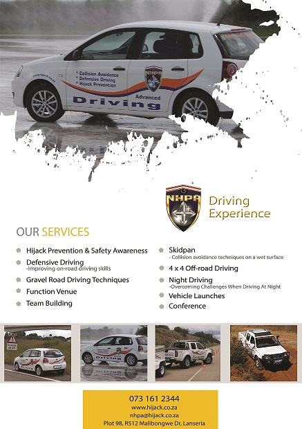 NHPA Driving Experience