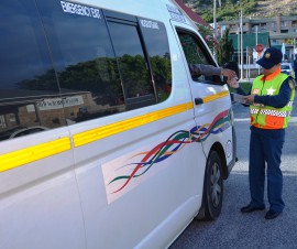 Roadside checking by traffic law enforcement officers will take place.