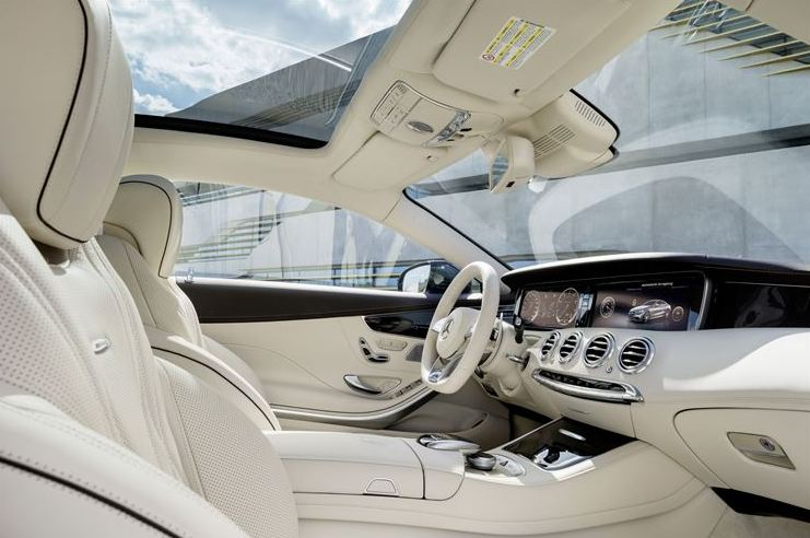 S65 coupe inside