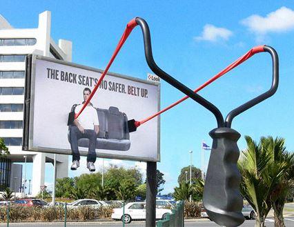 Seatbelt campaign