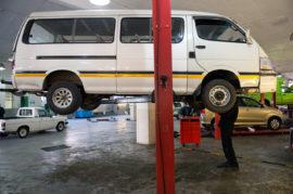 Taxi repair