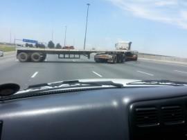 Truck u-Turn