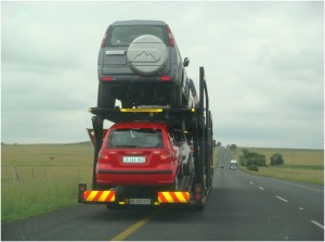 Vehicle truck