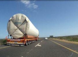 abnormal loads west coast wind turbine