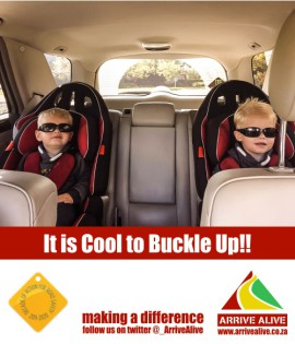cool to Buckle up safety