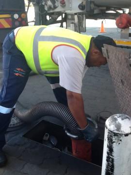 fuel worker