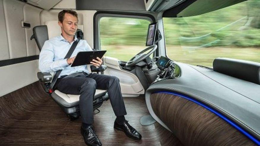 future truck cabin 876
