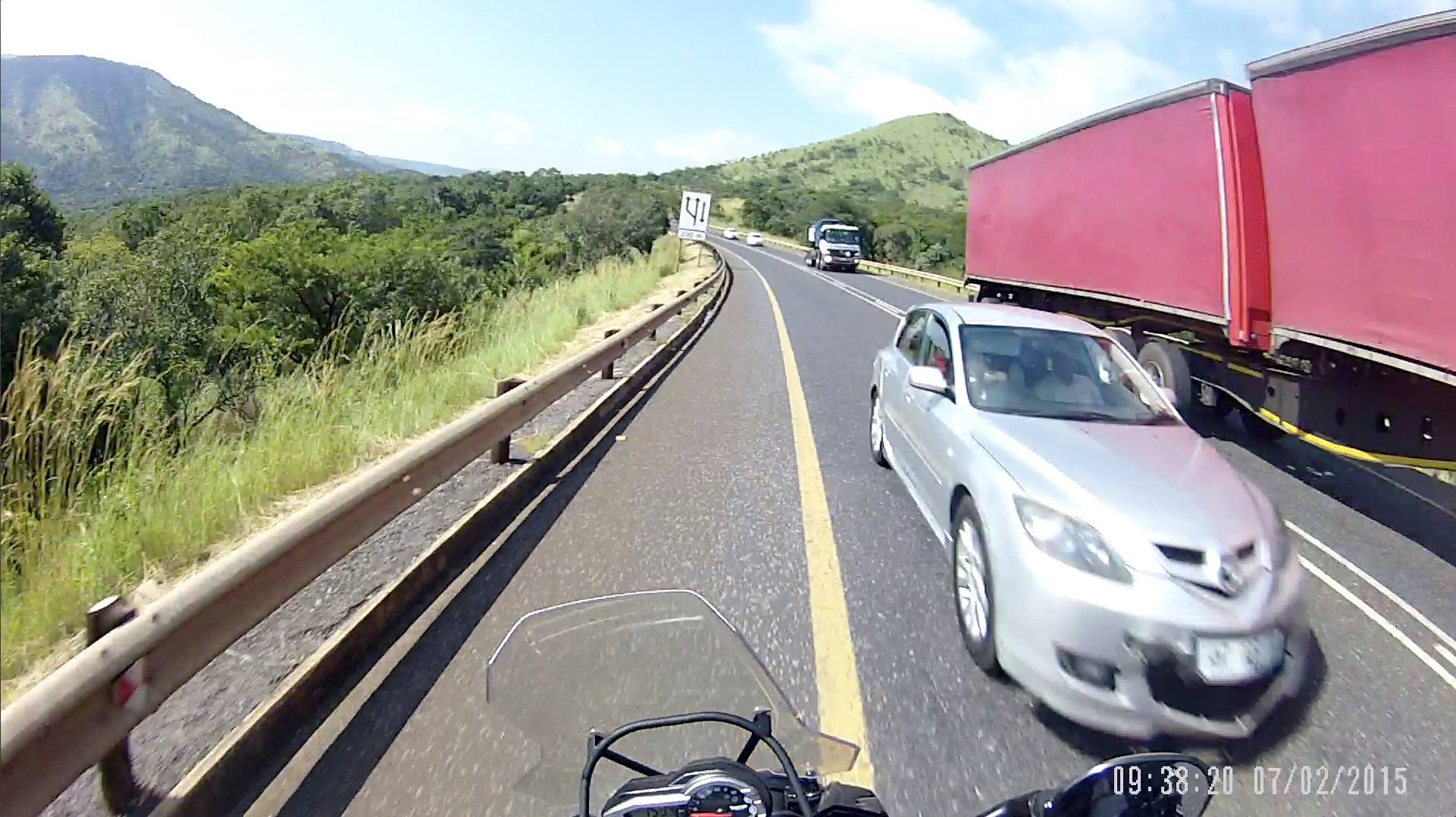 illegal overtake bike camera