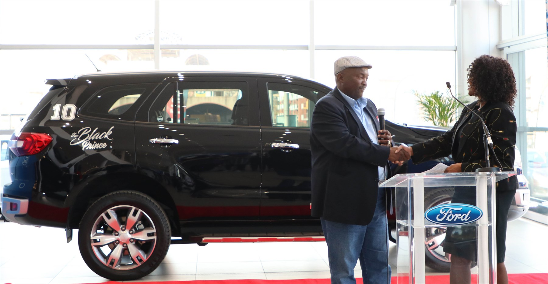 Football Icon Jomo Sono Announced as Ford Brand Ambassador  147e5632632d