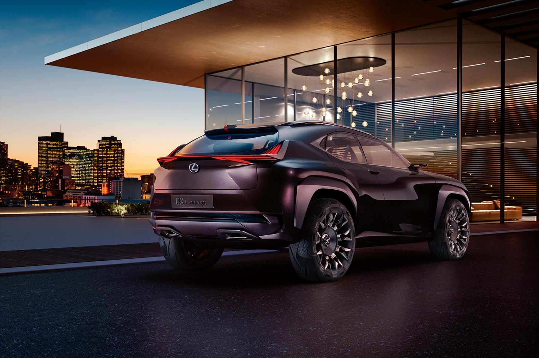 Sneak Preview Of Lexus Ux Concept At Paris Motor Show