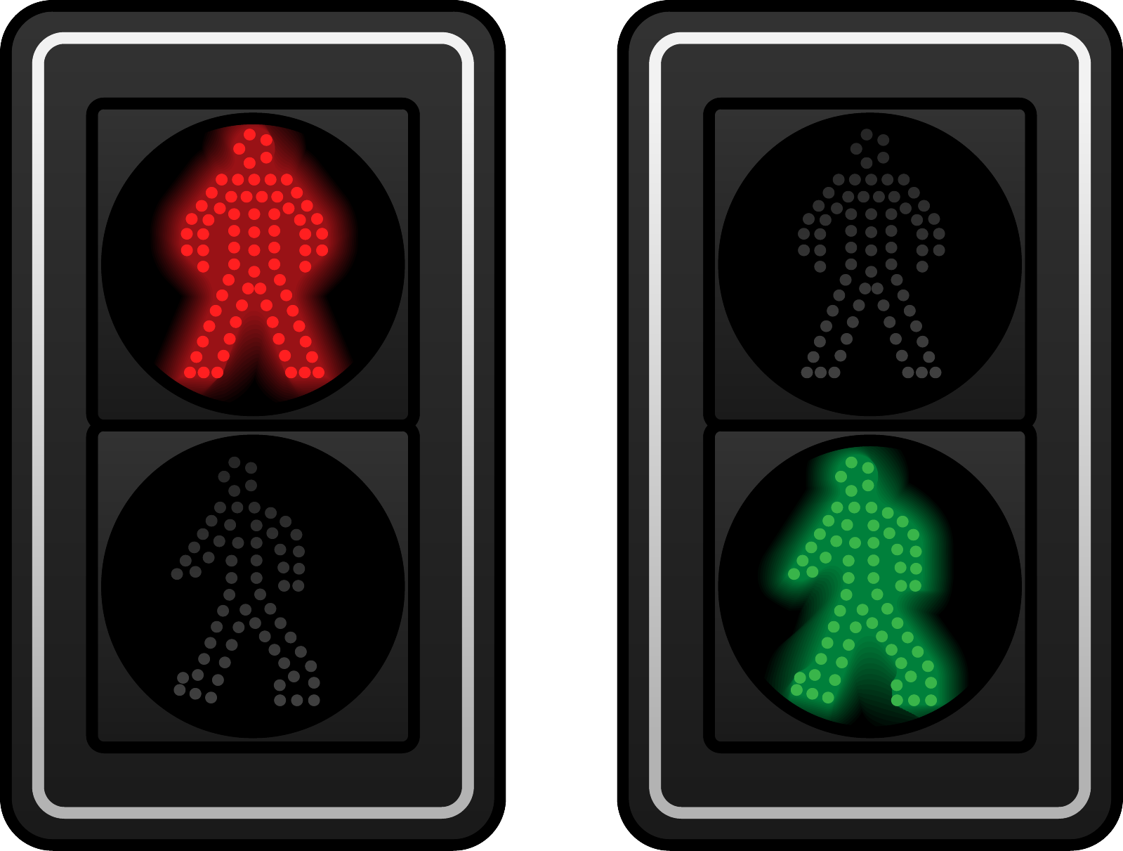 How Much Time Does The Quot Green Man Quot On The Traffic Light