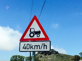 tractor farming warning