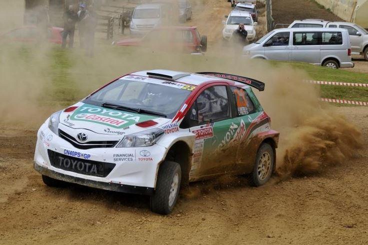 yaris rally 1