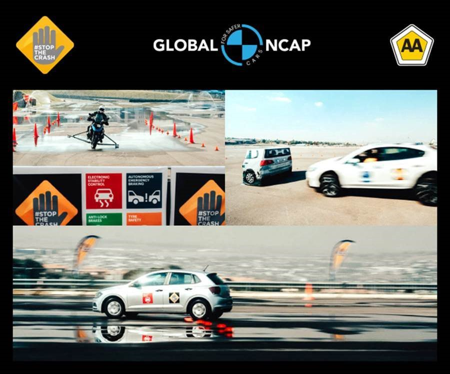 #StopTheCrash Campaign for cars and motorcycles launches