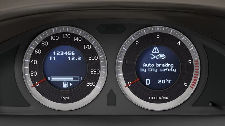 Volvo Cars' standard safety technology cuts accident claims